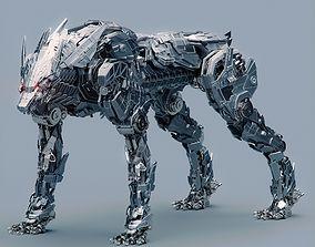 3D Metal Wolf Fenrir