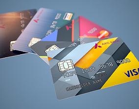 Credit Card PBR Game Ready 3D asset