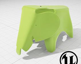 Eames Elephant Stool 3D asset