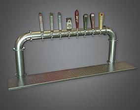 3D asset Bar Tap Dive Bar - PBR Game Ready
