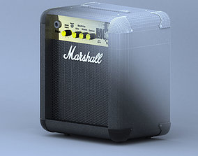 3D Marshall MG10 Amplifier