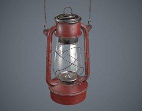 Kerosene Lamp 3D model game-ready