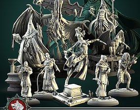 3D printable model The Cult bundle 10 unique miniatures
