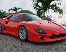 3D model Ferrari F40