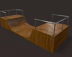 Skate ramp11 3D model VR / AR ready