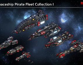 3D model Pirate Fleet Collection
