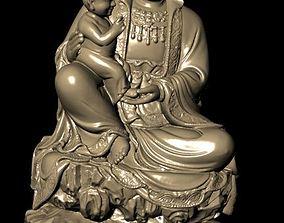 pendants The Bodhisattva 3D print model