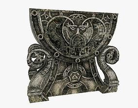 3D asset Celtic Altar