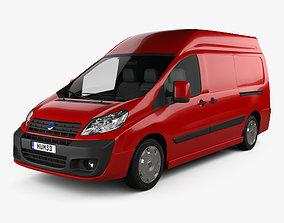 3D model Fiat Scudo Cargo L2H2 2011