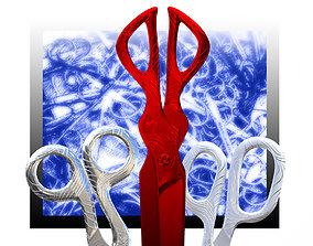 3D asset Nabis scissor