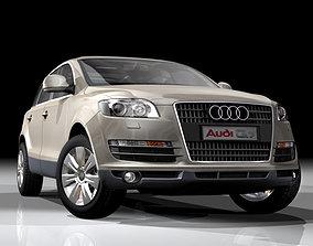 3D model Audi Q7 German SUV