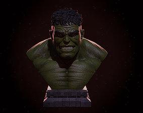 Hulk Bust 3D print model