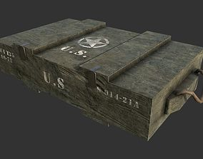 3D asset Military Weapon Crate