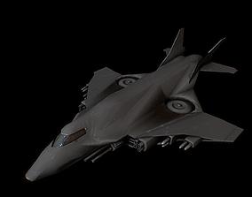 air jet 3D asset