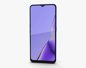 3D model Oppo A9 Space Purple