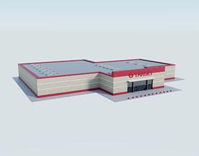 Target Store 3D asset