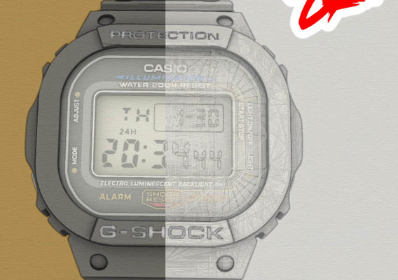 The Casio Icon [G-SHOCK DW5600]