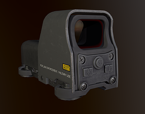 Eotech 553 Holographic sight 3D model