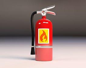 Cartoon Extinguisher 3D