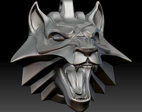 3D print model medallion The Witcher