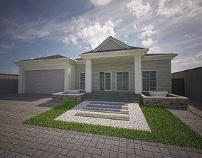 Suburban villa 3D