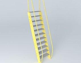 3D model ARGONAUTIX marine details staircase
