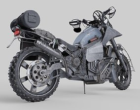 3D model rigged Drifter Bike