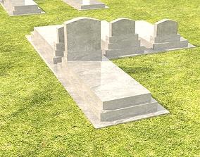 Gravestone 3D model tomb
