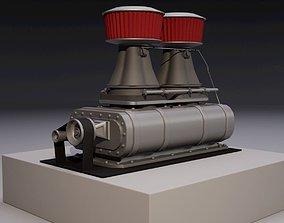 3D model Supercharger D