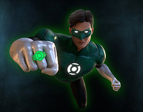 Green Lantern - Hal Jordan 3D asset