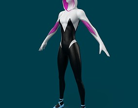 3D model SpiderGwen