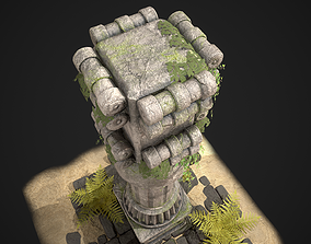 3D asset PERSIAN COLUMN