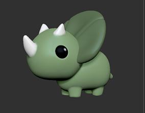 3D print model Triceratops herbivorous