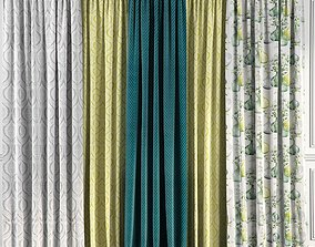 Curtain Set 53 3D