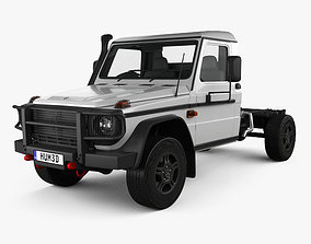 3D Mercedes-Benz G-Class W463 Single Cab Chassis 2017