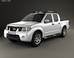 3D Nissan Navara D40 Double Cab 2010