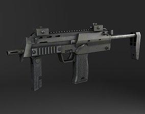 MP7A1 submachine gun 3D model