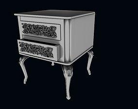 Bedroom cabinet 2 3D storage