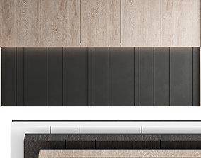 Decorative wall panel set 19 3D