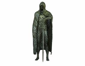 Medieval Statue 3D model