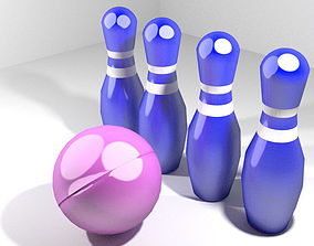 3D Toys - Bowling