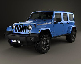 3D model Jeep Wrangler Unlimited Polar Edition