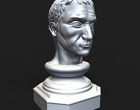 Gaius Julius Caesar bust 3D printable model