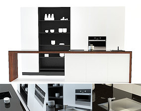 Modern Kitchen furniture 3D model