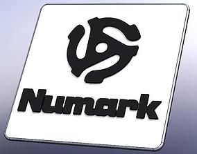 3D printable model Numark logo drink stand art