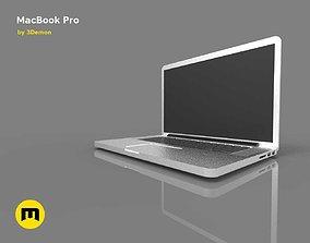 MacBook Pro computer 3D asset