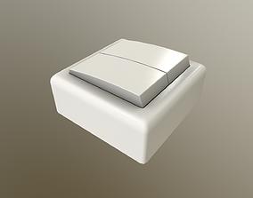 Two-Key Switch 3D asset