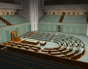 3D Australian Parliament Interior