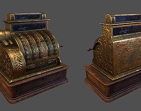 Old Fashioned Cash Register 3D asset