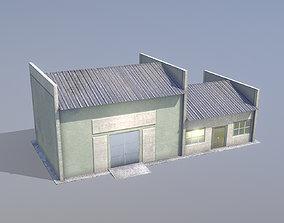 MilitaryBase PortoVelho Storage 03 3D asset